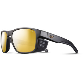 Julbo Shield M Reactiv Performance 2-4 Sunglasses, black/black